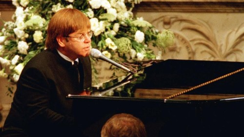Elton John: I needed teleprompter for Princess Diana funeral song