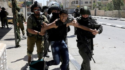 6,000 Palestinian children jailed by Israel since 2015: NGO