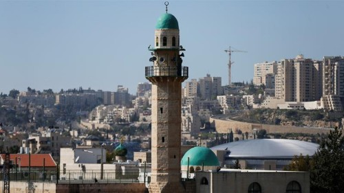 Suspected arson attack at East Jerusalem mosque