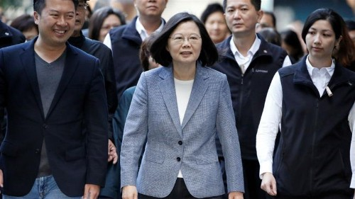 'Out of control': Taiwan says won't bow to China pressure