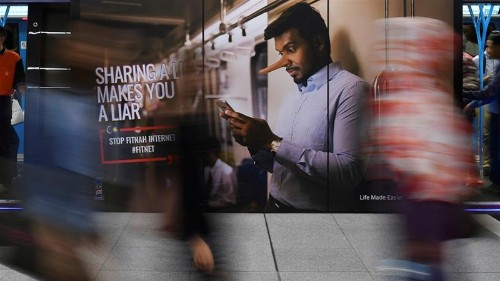 Malaysia parliament scraps law criminalising fake news