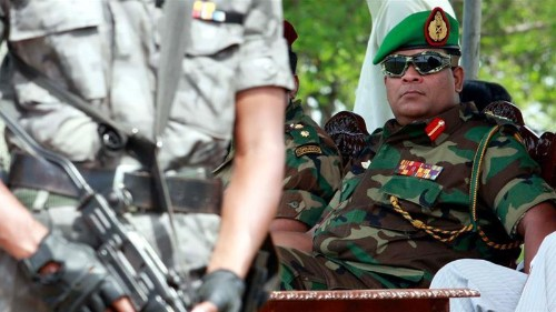 Sri Lankan troops barred from UN peacekeeping over new army chief