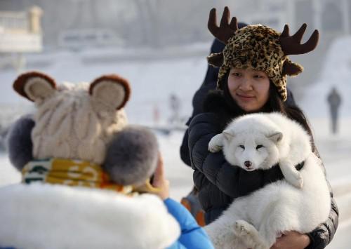 Frozen wonderland unveiled in China