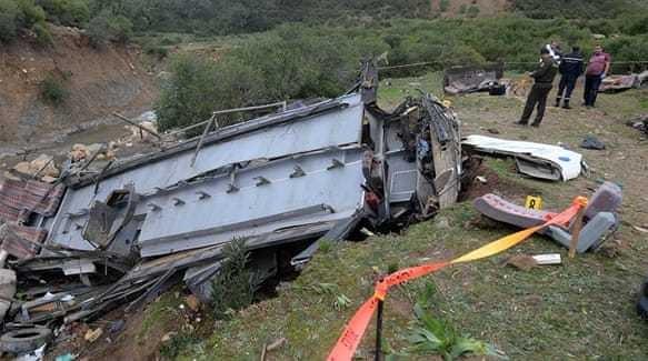 Bus crash in northern Tunisia kills more than 20