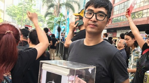 'The leaderless': Inside the masked face of Hong Kong's protests