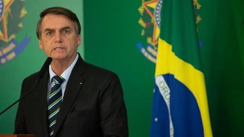 Brazil's Bolsonaro tweets obscene video, draws fire