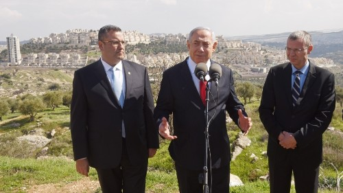 Netanyahu vows thousands of new settler homes in East Jerusalem