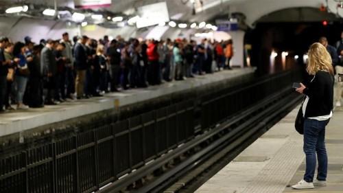 Transport workers' pension strike brings Paris to a standstill