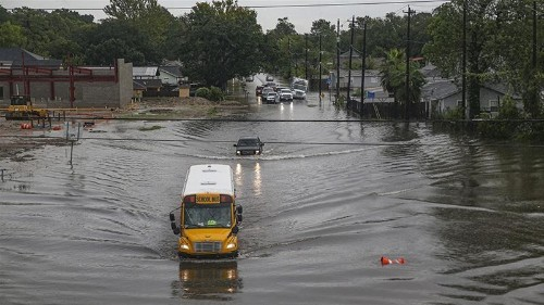 Flooding in southeast Texas leaves two dead