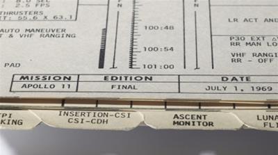 Apollo 11 memorabilia goes up for auction