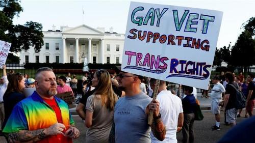 Top US court lets military implement transgender restrictions