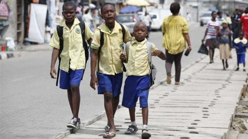 Why are millions of children not in school in West Africa?
