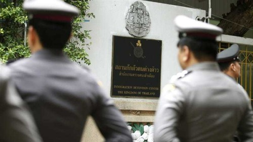 Wife of UK journalist questioned over Thai 'insult'