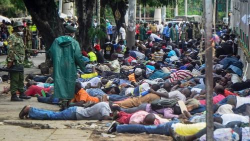 Kenya police under fire over 'excessive force' as curfew begins