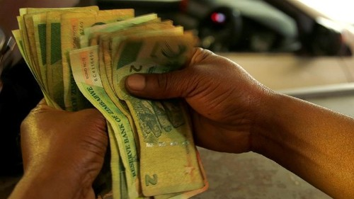 Zimbabwe's currency is collapsing