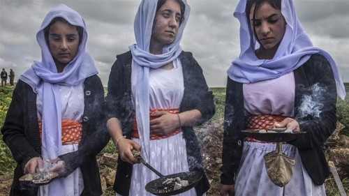 Iraq: Some Yazidi women return to Sinjar