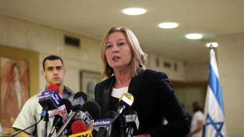 Livni: US should change role in peace talks
