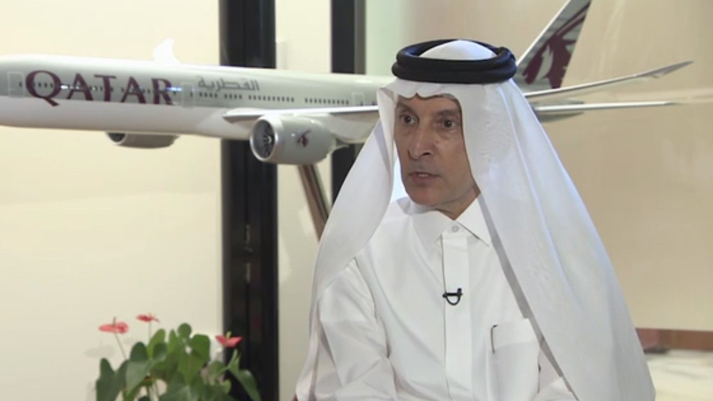 Qatar Airways CEO: Coronavirus has changed the airline industry