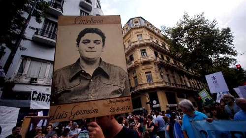 Six Argentinians sentenced to life for 'Dirty War' role