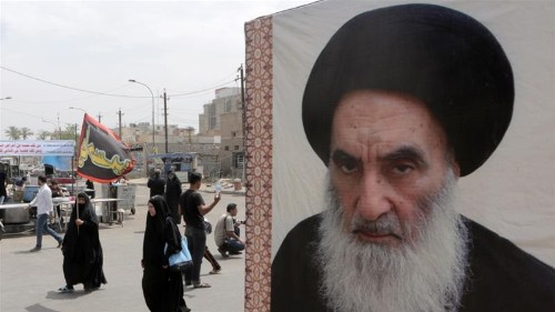 Iraq's al-Sistani blames government for deaths at protests