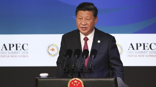 China and US clash on trade at heated APEC summit