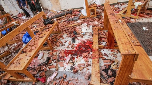 Sri Lanka bombing: 'No one can dry our tears today'