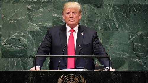 Trump revives Monroe Doctrine as warning to China and Russia