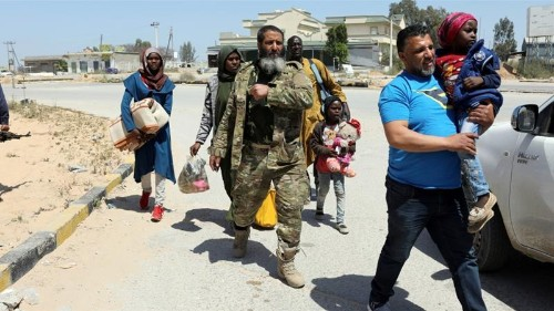 Heavy clashes near Libya's Tripoli amid 'new phase of attack'