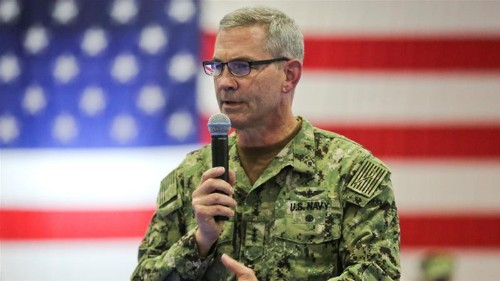 US Navy's Middle East chief Scott Stearney found dead in Bahrain