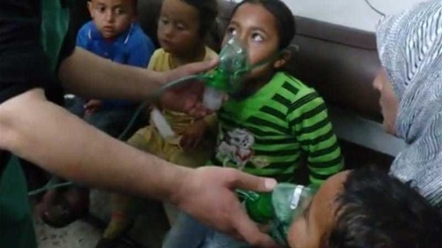 Syrian regime accused of chlorine gas attacks