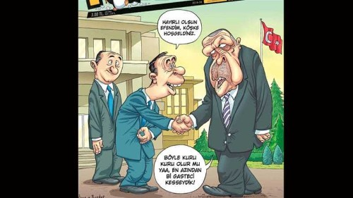 Turkish cartoonists convicted for insulting Erdogan