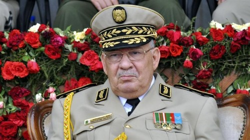 Algeria's army chief says elections best way out of crisis