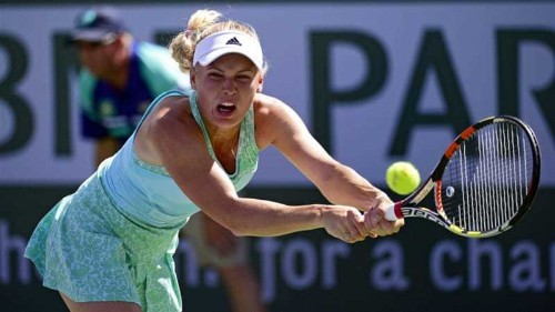 Wozniacki knocked out of Indian Wells