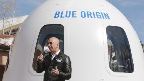 Blue Origin's New Shepherd launches