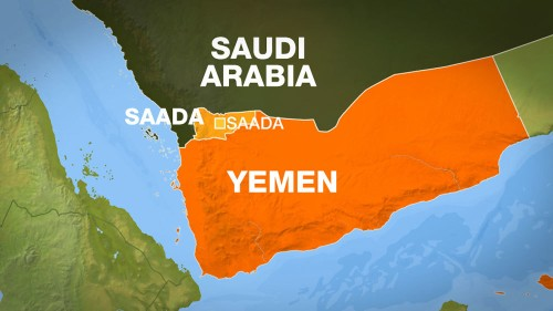 Arab coalition warns Yemenis to leave Saada province