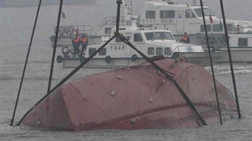 China boat trial voyage ends in disaster