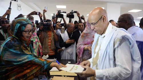 Mauritania's Ghazouani declared presidential vote winner