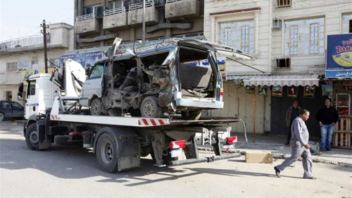 Deadly bombings hit Baghdad province