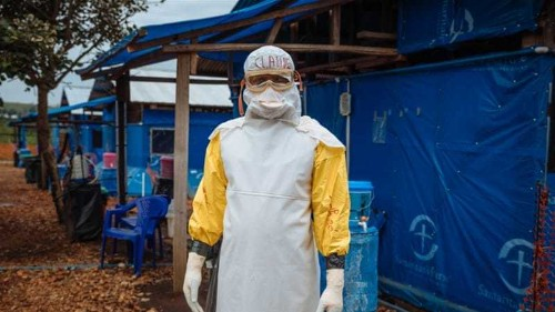 Those fighting the spread of Ebola in DR Congo