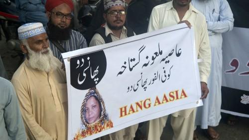 Pakistani far-right activists sentenced over blasphemy protests