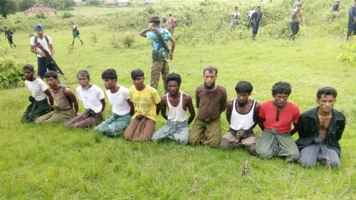 Myanmar soldiers jailed for Rohingya massacre freed after months