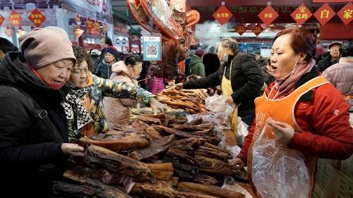 Hogging plates: China's diners still want pork despite price rise