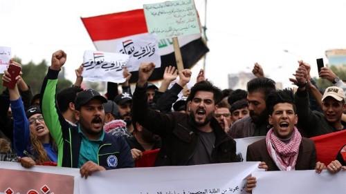 'Keep your war away': Iraqis revive protests amid US-Iran tension