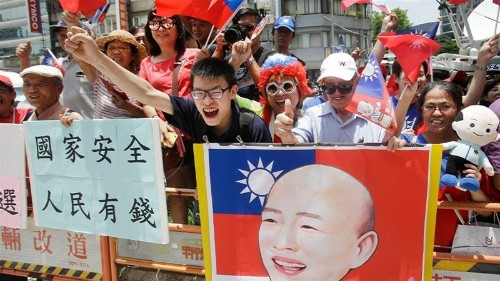 'Outsider' hopes for success in Taiwan poll as China looms