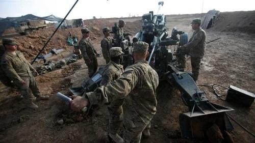 US deploys heavily armed marines to Syria