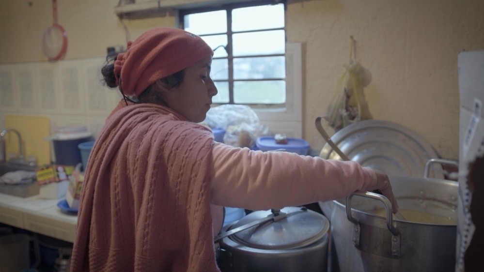 This Colombian woman shelters 150 Venezuelans every day