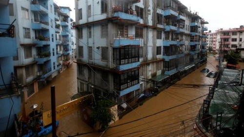 More deaths in monsoon-hit Nepal due to flooding, landslides