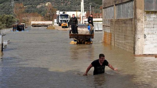 Flash floods hit Greece and Albania