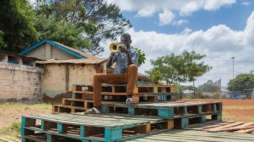 Mozart in Nairobi's Korogocho slum
