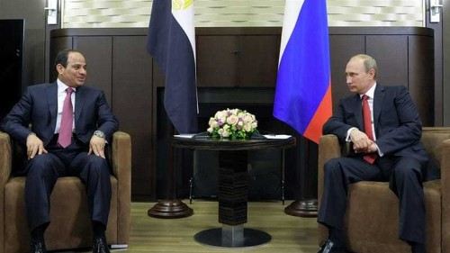 Putin seeks to expand Russian influence in Egypt visit
